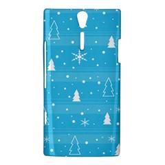 Blue Xmas Sony Xperia S