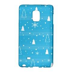 Blue Xmas Galaxy Note Edge
