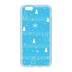 Blue Xmas Apple Seamless iPhone 6/6S Case (Color)