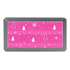 Magenta Xmas Memory Card Reader (Mini)