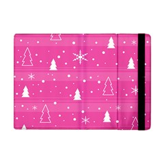 Magenta Xmas Apple iPad Mini Flip Case