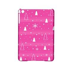 Magenta Xmas iPad Mini 2 Hardshell Cases