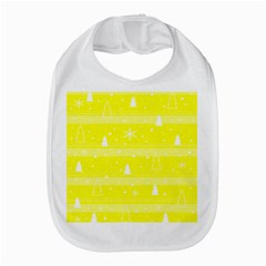 Yellow Xmas Bib