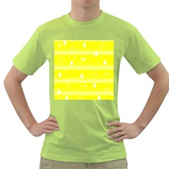 Yellow Xmas Green T-Shirt