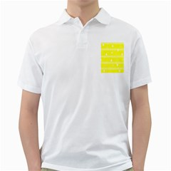 Yellow Xmas Golf Shirts