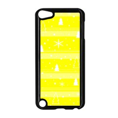 Yellow Xmas Apple iPod Touch 5 Case (Black)