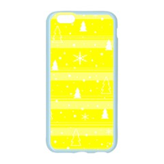 Yellow Xmas Apple Seamless iPhone 6/6S Case (Color)