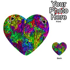 Hot Liquid Abstract A Playing Cards 54 (heart)