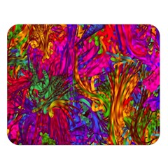 Hot Liquid Abstract B  Double Sided Flano Blanket (large)