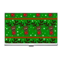 Reindeer pattern Business Card Holders
