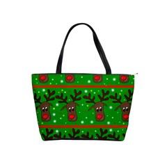 Reindeer pattern Shoulder Handbags