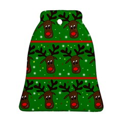 Reindeer pattern Ornament (Bell)