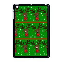 Reindeer pattern Apple iPad Mini Case (Black)