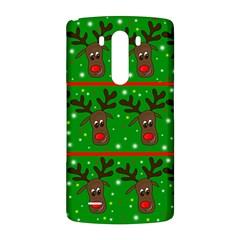 Reindeer pattern LG G3 Back Case