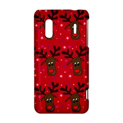Reindeer Xmas pattern HTC Evo Design 4G/ Hero S Hardshell Case