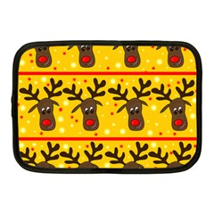 Christmas reindeer pattern Netbook Case (Medium)
