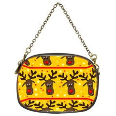 Christmas reindeer pattern Chain Purses (One Side)