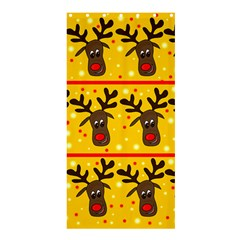 Christmas reindeer pattern Shower Curtain 36  x 72  (Stall)