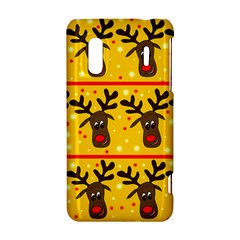 Christmas reindeer pattern HTC Evo Design 4G/ Hero S Hardshell Case