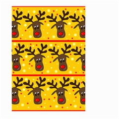 Christmas reindeer pattern Large Garden Flag (Two Sides)