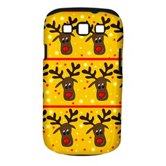 Christmas reindeer pattern Samsung Galaxy S III Classic Hardshell Case (PC+Silicone)