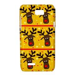 Christmas reindeer pattern Motorola XT788