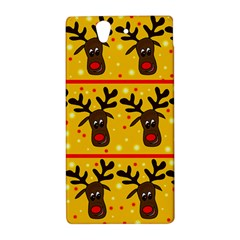 Christmas reindeer pattern Sony Xperia Z
