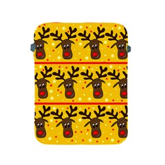 Christmas reindeer pattern Apple iPad 2/3/4 Protective Soft Cases