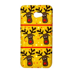 Christmas reindeer pattern HTC Butterfly S/HTC 9060 Hardshell Case