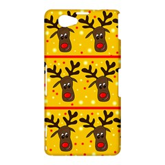 Christmas reindeer pattern Sony Xperia Z1 Compact