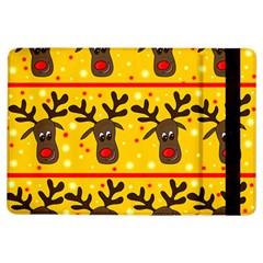 Christmas reindeer pattern iPad Air Flip