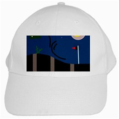 Abstract night landscape White Cap