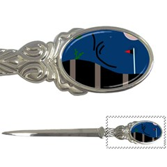 Abstract night landscape Letter Openers