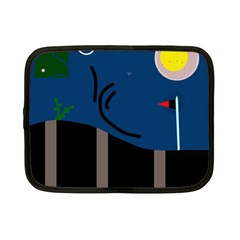 Abstract night landscape Netbook Case (Small)