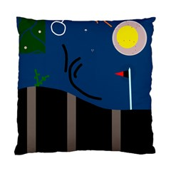Abstract night landscape Standard Cushion Case (One Side)