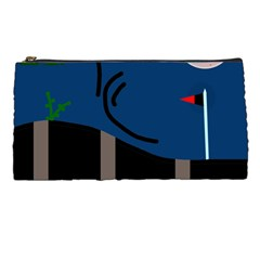 Abstract night landscape Pencil Cases