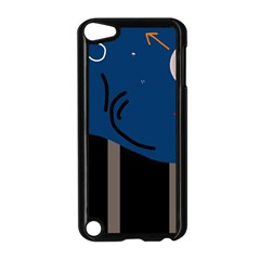 Abstract night landscape Apple iPod Touch 5 Case (Black)
