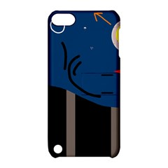 Abstract night landscape Apple iPod Touch 5 Hardshell Case with Stand