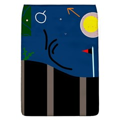 Abstract night landscape Flap Covers (L)