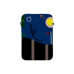 Abstract night landscape Apple iPad Mini Protective Soft Cases