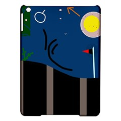 Abstract night landscape iPad Air Hardshell Cases