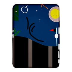 Abstract night landscape Samsung Galaxy Tab 4 (10.1 ) Hardshell Case