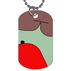 Nature Dog Tag (Two Sides)