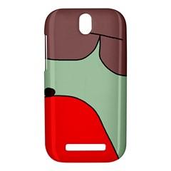 Nature HTC One SV Hardshell Case