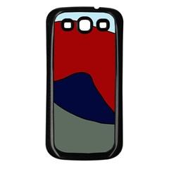 Decorative design Samsung Galaxy S3 Back Case (Black)