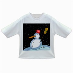 Lonely snowman Infant/Toddler T-Shirts
