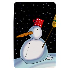 Lonely snowman Kindle Fire (1st Gen) Hardshell Case