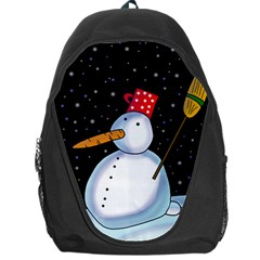 Lonely snowman Backpack Bag