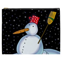 Lonely snowman Cosmetic Bag (XXXL)