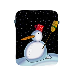 Lonely snowman Apple iPad 2/3/4 Protective Soft Cases